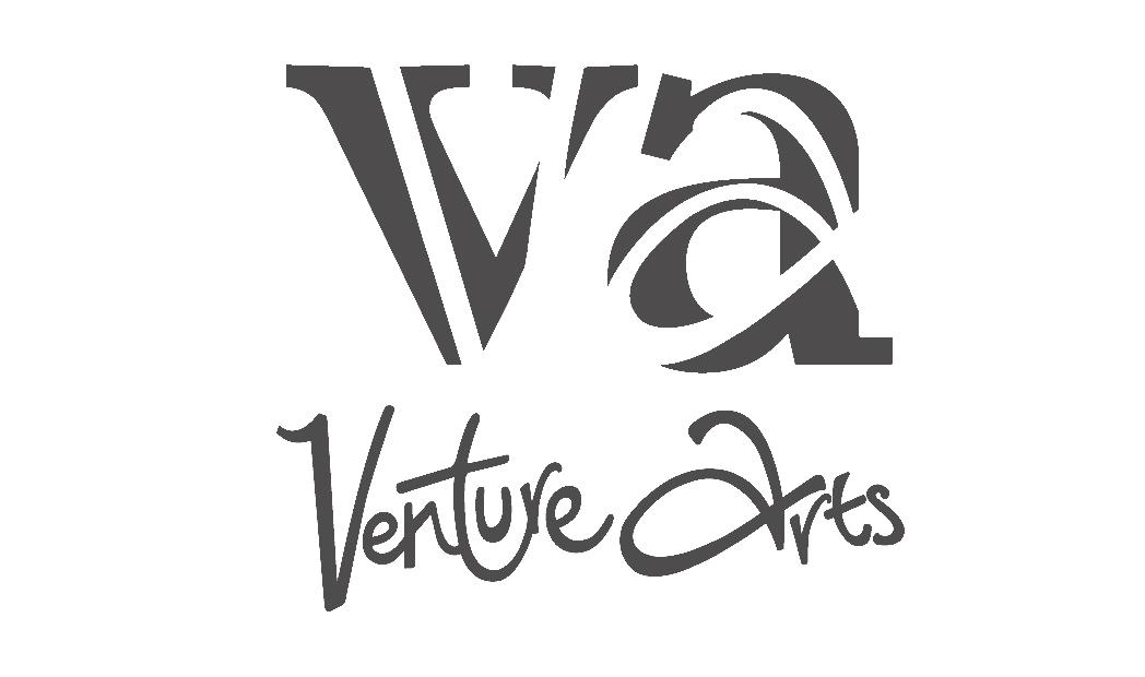Venture Arts logo.