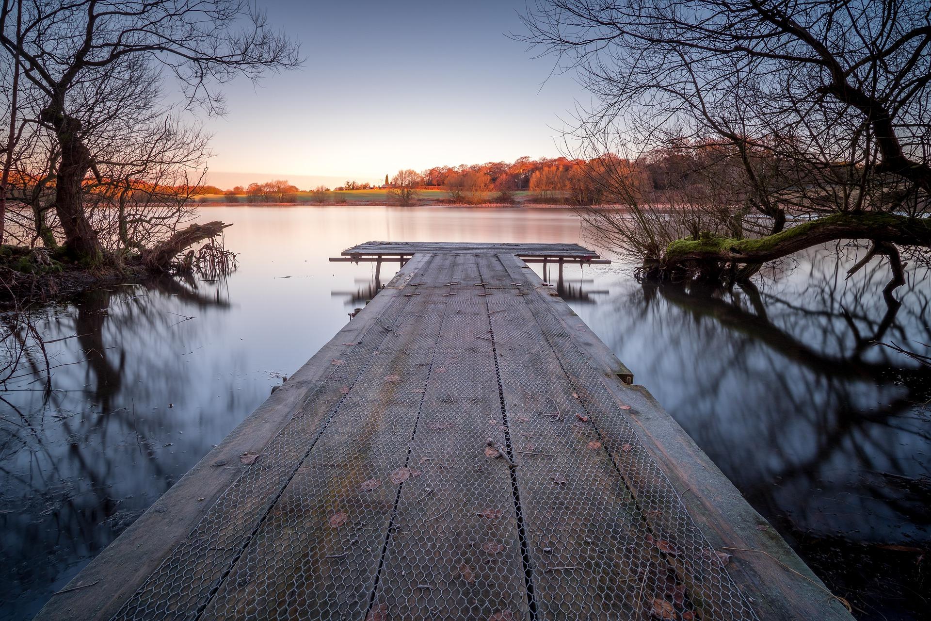 Lake in Wakefield